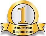 1 American Restaurant Badge
